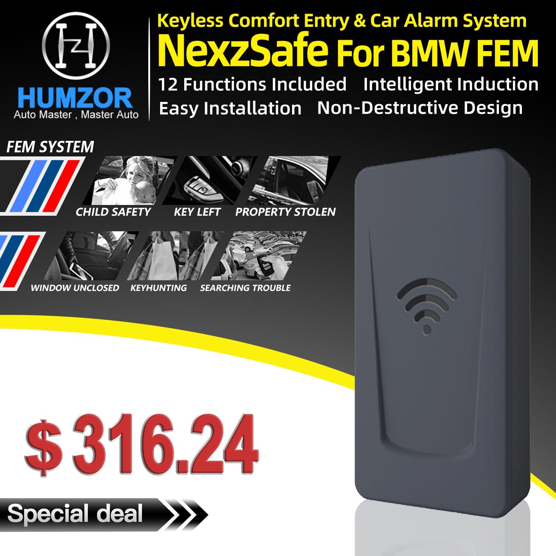 Alarme de voiture d'entrée de confort sans clé pour système BMW FEM F20/F21, F22/F23/F87, F32/F33/F36/F82/F83, F31/F34/F35/F80/F30