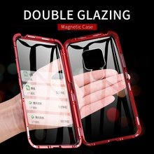 Luxury Magnetic Case For Huawei Mate 20 Pro Lite Mate20 Glass Phone mate20pro 20lite Cover Accessories