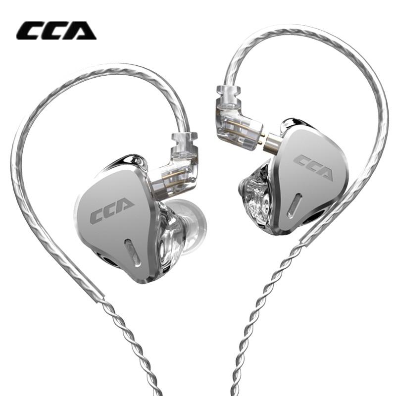 Проводные наушники-вкладыши CCA CS16 16BA, металлические Hi-Fi наушники с подавлением звука, для диджея, Спортивная гарнитура CCA CA16 C12 ZAX ASX BA8 ZSX P1