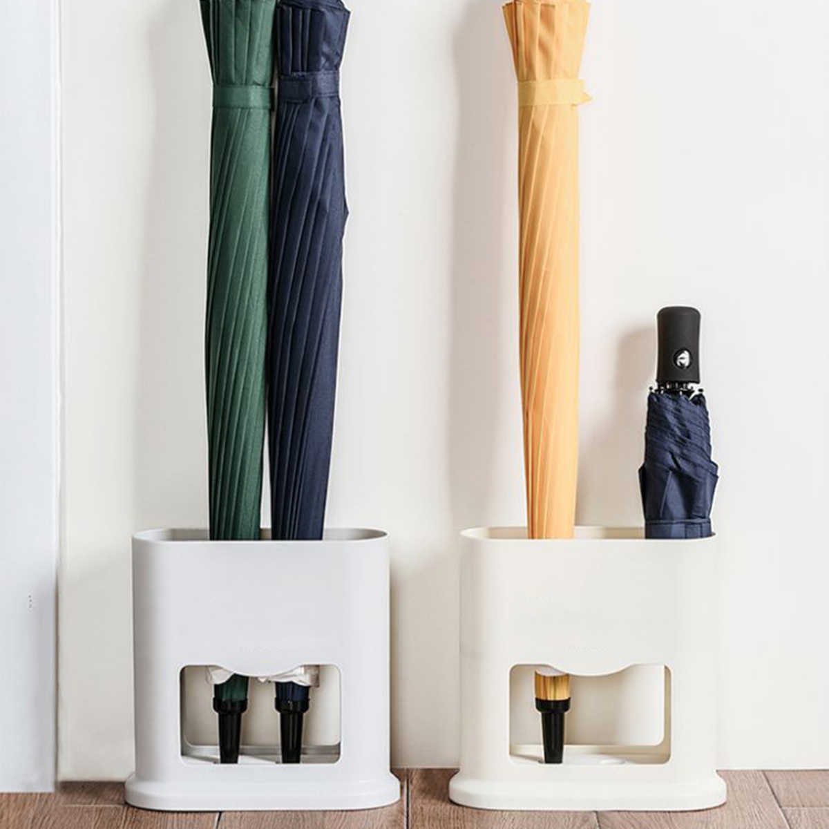 Umbrella Stand Rack Umbrella Draining Stand Storage Holder Hold Up To 4 Umbrellas Suitable For Both Short And Long Umbrellas