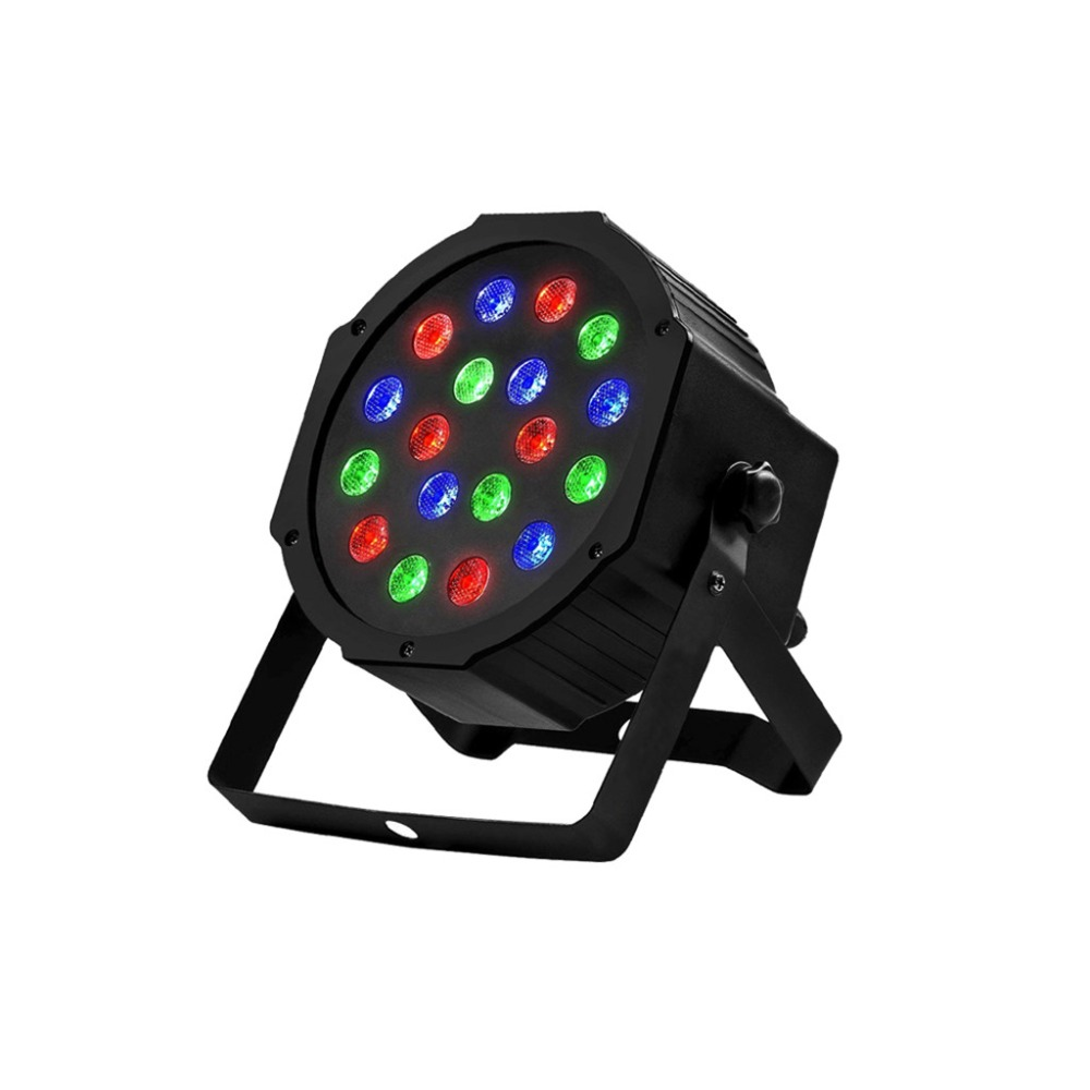 Disco Light Color DMX Voice Control Self-Propelled Laser Staining Stage Lights KTV Christmas 18LED (1)