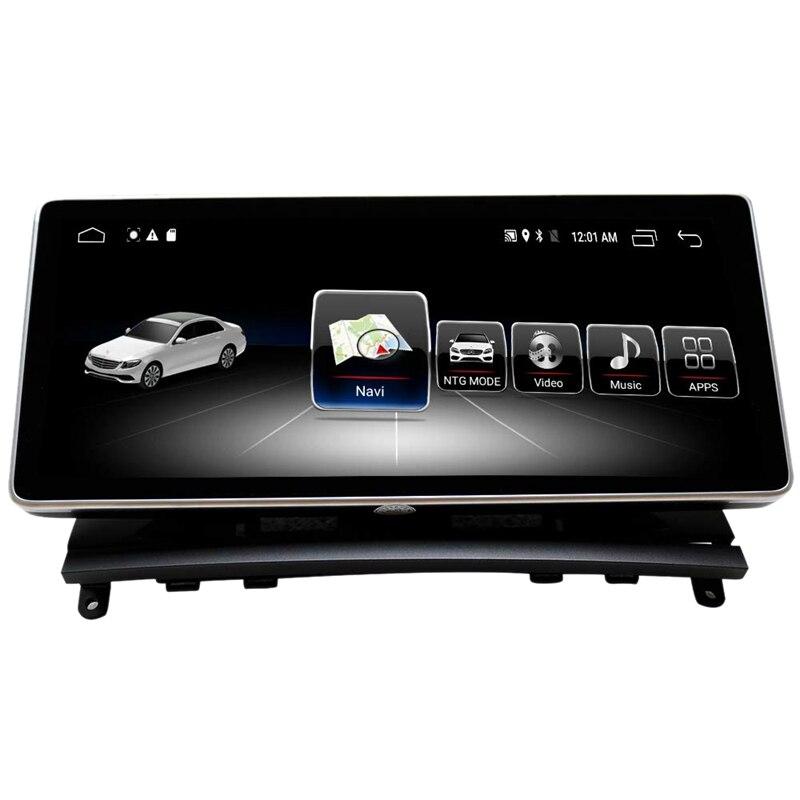 Écran de presse de Navigation de voiture de 10.25 pouces pour Mercedes Benz CLK classe W204 S204 C207 A209 2008 à 2010 Blu-Ray écran GPS voiture Navig