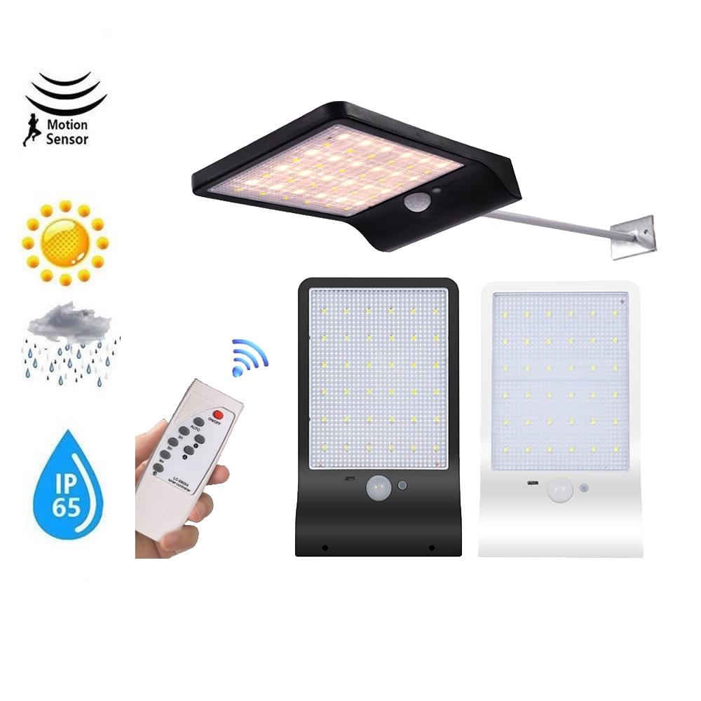 Solar Light Outdoor Waterproof 48 LED Garden Solar Lamp Motion Sensor PIR 3 Modes Spotlights Floodlights Pendant Lamps Garden