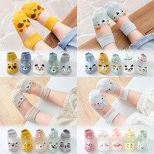 Newborn Baby Mesh Socks Summer Breathable Thin Stocking Toddler Boy Children Accessories Cotton Cartoon Sock Infant Supplies
