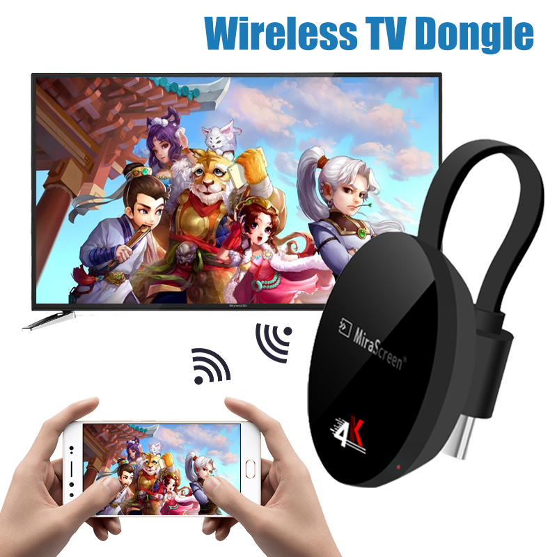 TV Stick For Airplay For Netflix  Wireless For Google  For Chromecast Display 4K For Android  WiFi  Dongle For Dvb For Hdmi