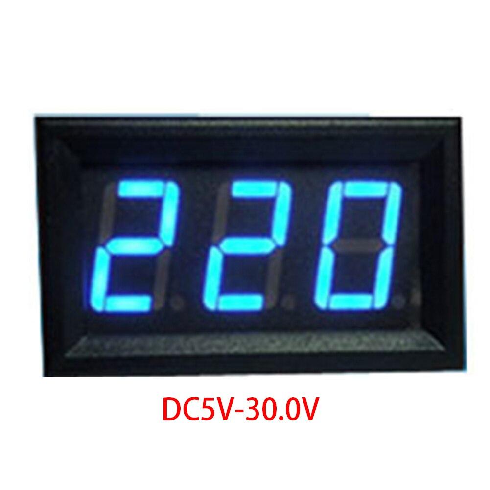 LCD Digital Voltmeter Ammeter Voltimetro Red Mini LED Amp Amperimetro Volt Meter Gauge Voltage Meter DC Wholesale
