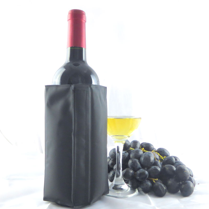Wine Cooling Holder Ice Bag Jelly Bag Picnic Beverage Cooler sleeve Red Wine rack Bar Tools For Beer Champagne Wine Bucket(China)
