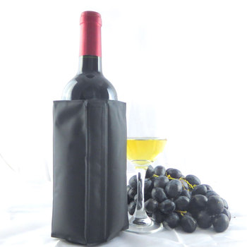 Wine Cooling Holder  Ice Bag Jelly Picnic Beverage Cooler sleeve Red rack Bar Tools For Beer Champagne Bucket