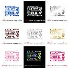 Эксклюзивные прозрачные Переводные мембранные Декоративные наклейки для GT велосипедов виниловые материалы листы рамы велосипеды