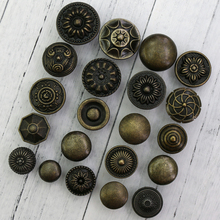 1PC  Retro DecorFurniture Handles Antique Drawer Cabinet Door Knobs Pull Handles mtgather durable 15cm length loft pipe drawer door knobs handles iron retro industrial antique barn gate pull