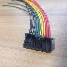 1 teile/los 12 Pin/Way Doppel Blinkende Instrument Schalter Module Control Stecker Draht Kabel Für VW CC Magotan 8E 0 972 712