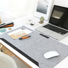Computer Desk Table Felt Mat Office Mouse Pad Holder Laptop Cases Cushion Pads GV99