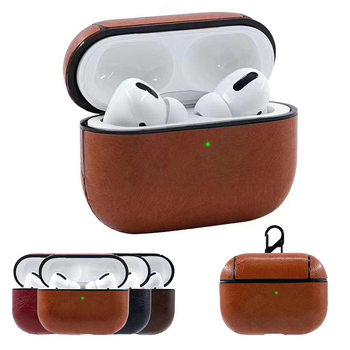 Luxury Case For Apple Airpods Pro Case Leather Case For airpods 3 Pro Case Cover Wireless Bluetooth Headphone Accessories Cover