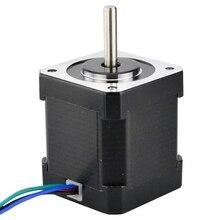Nema 17 silnik krokowy 48Mm Nema17 silnik 42bygh 2A 4 ołowiu (17Hs19 2004S1) 1M kabel do 3D drukarki Cnc Xyz najczęściej oglądane silnik