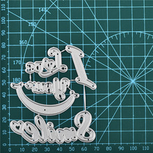 Eastshape I Love You Smile Metal Cutting Dies Letter Stencil for DIY Scrapbooking Album Paper Card Decorative Craft New