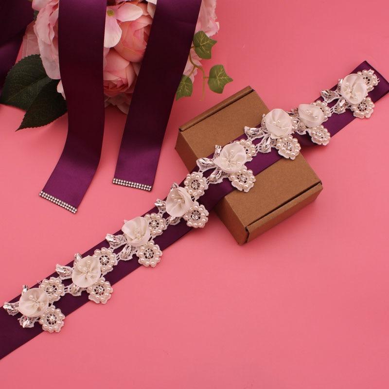 YJWSXF ladies belt wedding dress belt bridal belt wedding and important occasions rhinestone belt wedding accessories