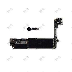Image 2 - Para iphone 7 placa mãe sem/com toque id, para iphone7 móvel mainboard 4g suporte 32gb/128gb /256gb