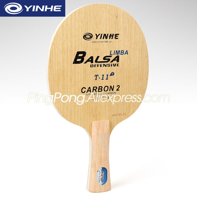 YINHE T11 / T11+ (Balsa Light Weight Carbon) YINHE Table Tennis Blade T-11 Original Galaxy Racket Ping Pong Bat / Paddle