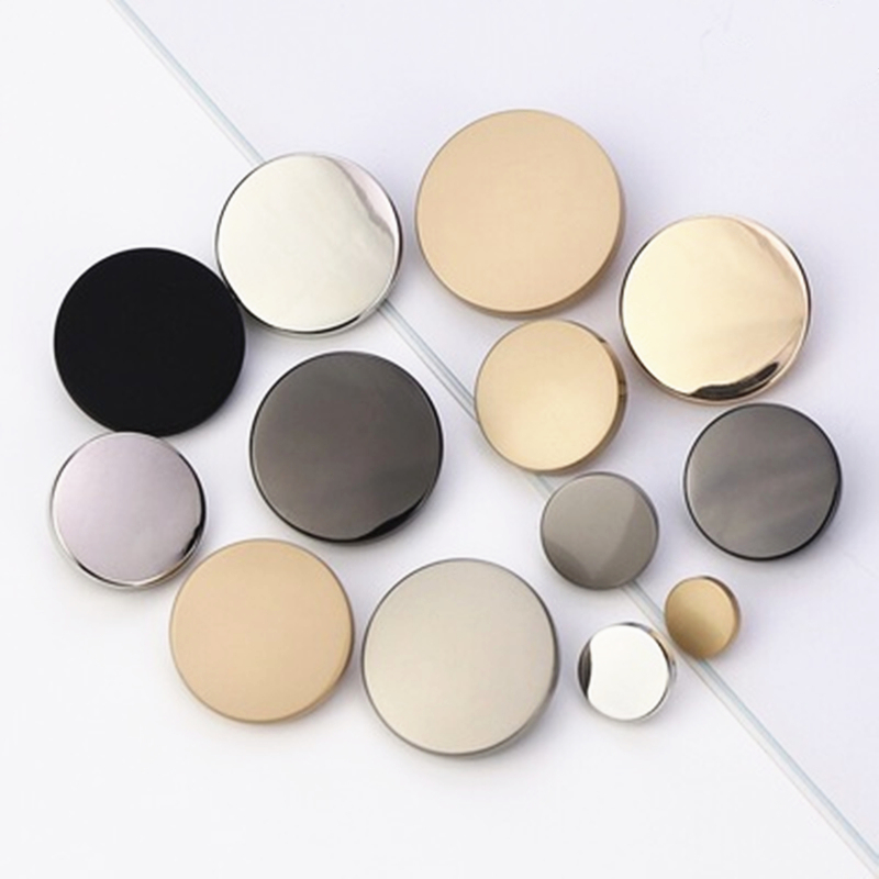 10pcs/lot Metal Shank Sewing Buttons For Jacket, Windbreaker, Button Fastener Clothing Diy Manualidades Accessories Decorative Factory Direct Selling Price