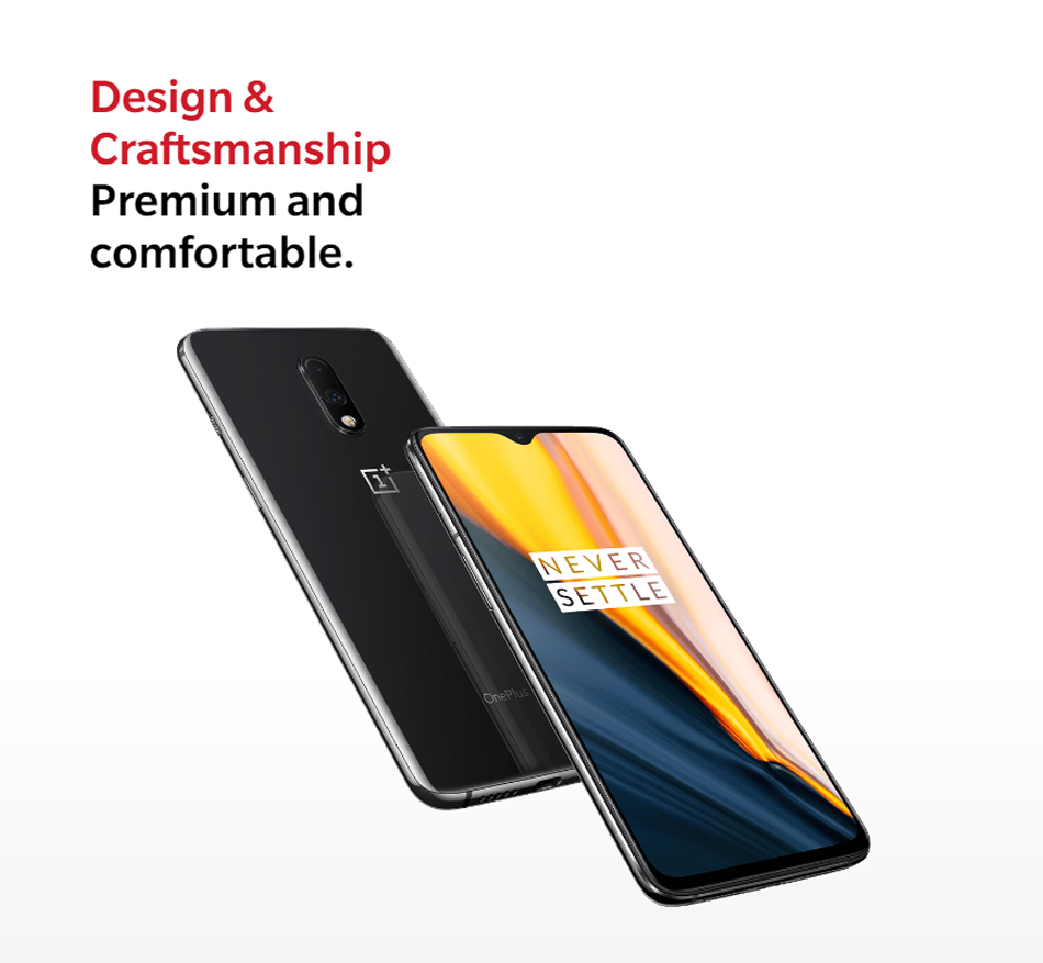 Global Version OnePlus 7 6/8GB RAM 128/256GB ROM Snapdragon 855 UFS 3.0 Dual Camera 48 MP Fingerprint Recognition Smartphone 33