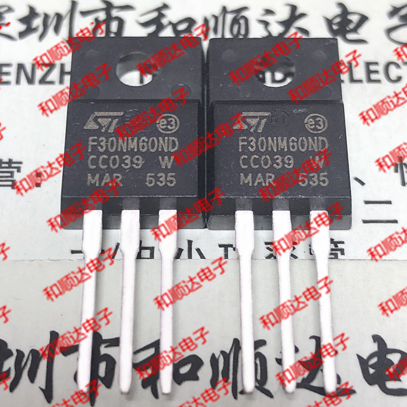 10pcs/lot STF30NM60ND F30NM60ND New Stock TO-220F 600V 25A