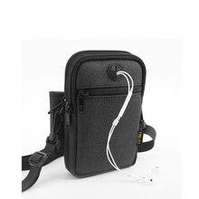 Многофункциональная сумка для сертификата, сумка через плечо, водонепроницаемая сумка для мобильного телефона, мужская женская сумка на одно плечо