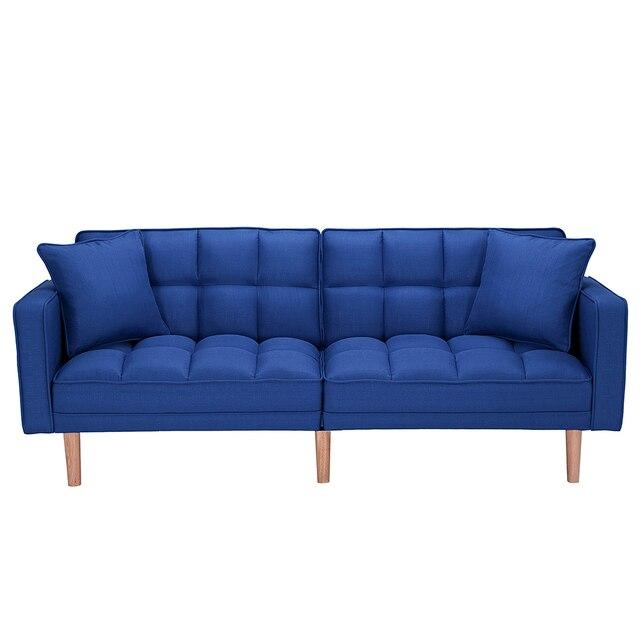 Dark Blue Sofas Bed Sleeper  1