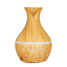 USB Air Humidifier Essential Oil Diffuser Ultrasonic Household Aroma Diffuser Aromatherapy Mist Maker with Color Light usb ultrasonic mini air humidifier 290ml essential oil aromatherapy mist maker with blue led light dark wood aroma diffuser