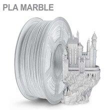 Sunlu 1.75mm pla filamento de mármore 1kg efeito de mármore pla 3d filamento materiais de impressão transporte rápido