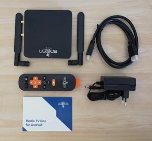 Image 5 - UGOOS AM6 Pro Amlogic S922X الذكية أندرويد 9.0 صندوق التلفزيون DDR4 2GB 16GB 4GB 32GB 2.4G 5G المزدوج واي فاي 1000M LAN BT 4K HD ميديا بلاير