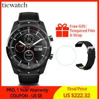 Ticwatch Pro Bluetooth Smart Watch IP68 Waterproof support NFC Payments/Google Assistant Wear OS by Google Sports Smart Watch