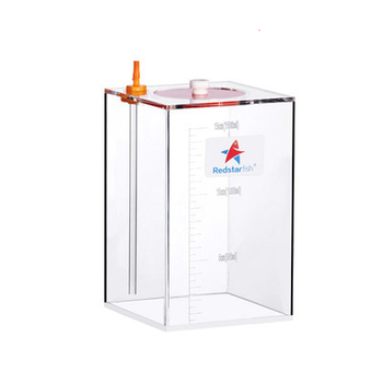 Red Starfish Dosing Pump Scale Liquid Storage Bucket With Scale 1.5L/2.5L Liters High Quality Acrylic made Reef