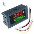 0,56 ''0-100V 10A 50A 100A светодиодный цифровой вольтметр Амперметр постоянного тока автомобилей мотоциклов Напряжение измеритель тока детектор нап...