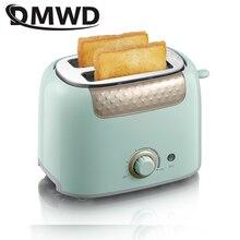 DMWD электрический тостер для хлеба из нержавеющей стали, машина для выпечки, тост, гриль, подогреватель для сэндвичей, горшок Rotisserie EU US