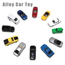 Teraysun 10pcs miniature model car kits diecast scale alloy 1:150