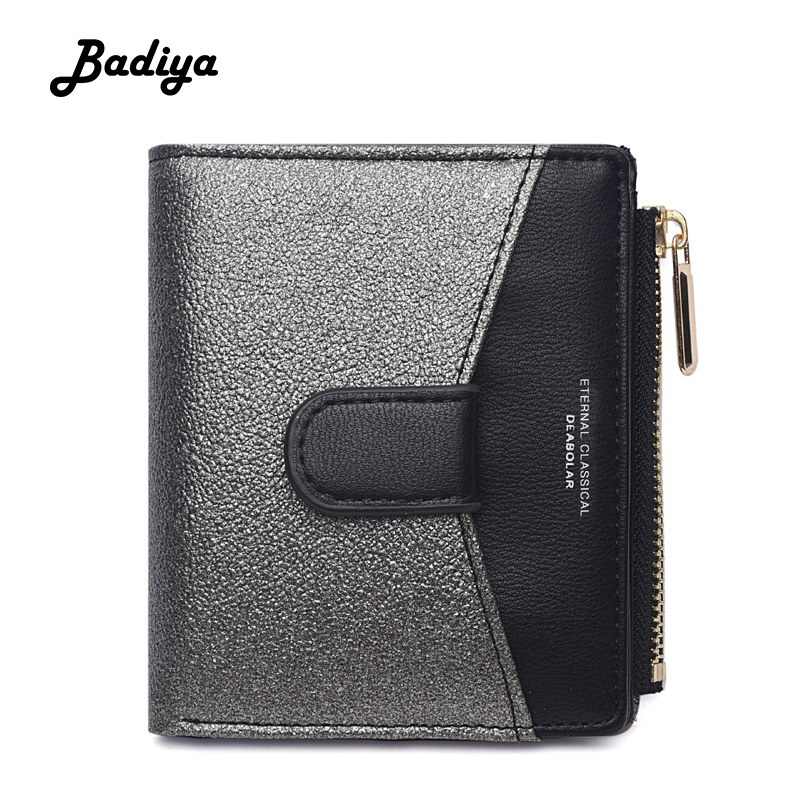 Luxury Womens PU Leather Wallet New Fashion Brand Design Coin Purse Multi Slots Credit Card Holder Lady Short Bifold Clutch Bag