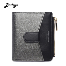 Luxury Womens PU Leather Wallet New Fashion Brand Design Coin Purse Multi Slots Credit Card Holder Lady Short Bifold Clutch Bag new brand wallet portefeuille femme for 2016 fashion purse women leather short small bag womens solid card holder gift 1pcs