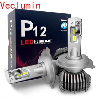 High Bright 2pcs P12 Car LED Headlight 90W 13000LM LED Bulbs 6500K H7 LED H4 H11 9012 HB3 HB4 H15 H16 5202 NEW Auto Light