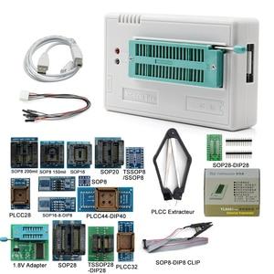 Image 2 - Programador Universal 100% V10.22 TL866II Plus, 17 adaptadores, alta velocidad, TL866 Flash, EPROM