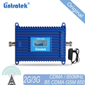 850 Mhz Repeater 70dB CDMA 850mhz repetidor 850Mhz cell phone signal booster Lintratek GSM 850 signal repeater amplifier #20