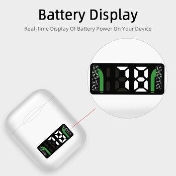 I99 tws LED Bluetooth inalámbrico Auriculares auriculares para iPhone Samsung Xiaomi Huawei LG pk oído aire i18 tws I10000
