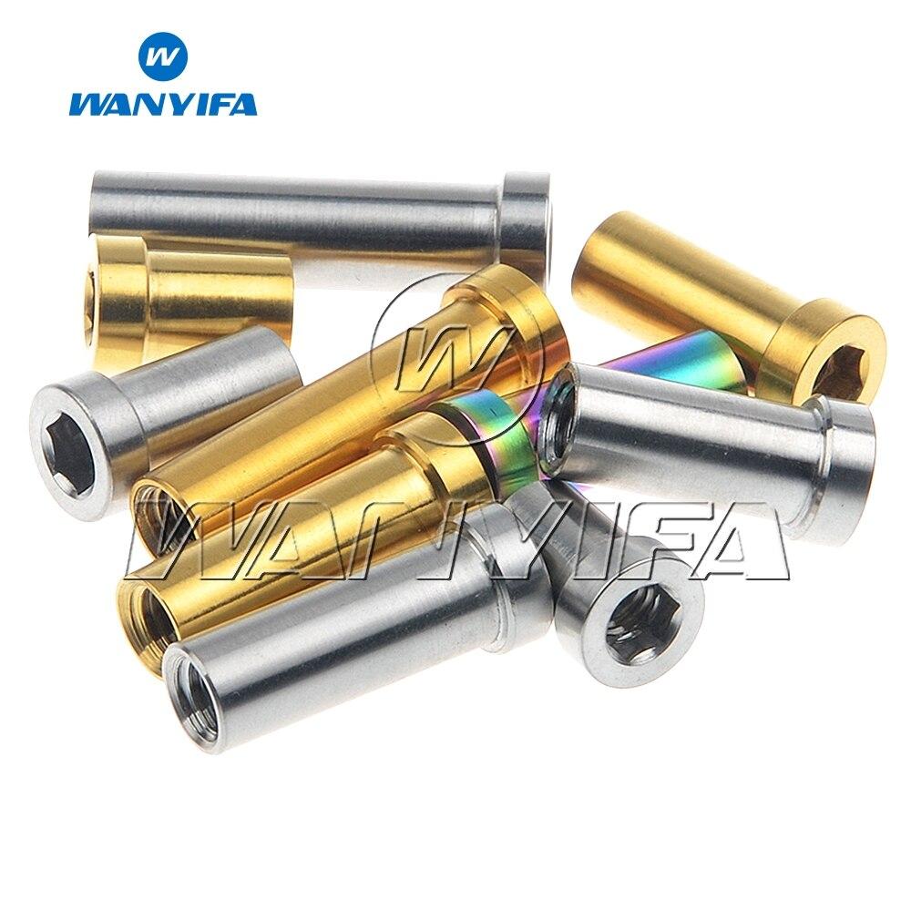 Titanium Recessed Brake Bolt Nut 13 17 23.5 28.5 31.5 mm Common Size B5 S1