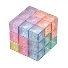 Новинка, магнитные строительные блоки, детский набор строительных плиток, головоломка, волшебный куб, развивающие игрушки, подарок для малышей