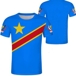 Image 2 - ZAIRE male youth custom made name number zar casual t shirt nation flag za congo country french republic print photo clothes