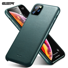 ESR Case for iPhone 11 Pro Max Leather Case Cover Brand Blac