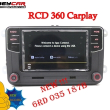 Radio RCD330 Jetta Mk5 187B Polo MIB Passat Golf 5 for VW 6 MK6 CC Tiguan B6 B7 Touran