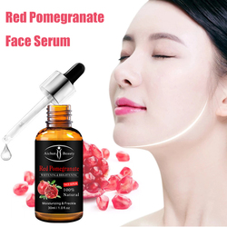 30ml Red Pomegranate Essence Oil Anti-Aging Moisturizing Makeup Nourishing Facial Skin Care Serum Whitening Shrink Pores Essence