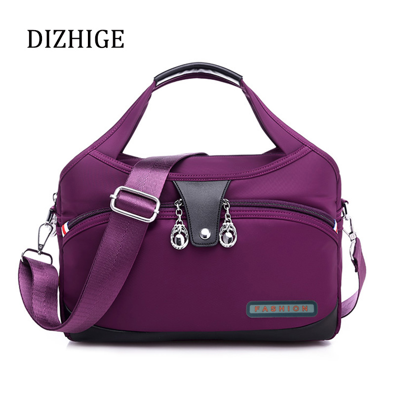 Nylon Large Women Messenger Bags Designer High Quality Crossbody Bags For Women Ladies Handbags Waterproof Female Shoulder Bags