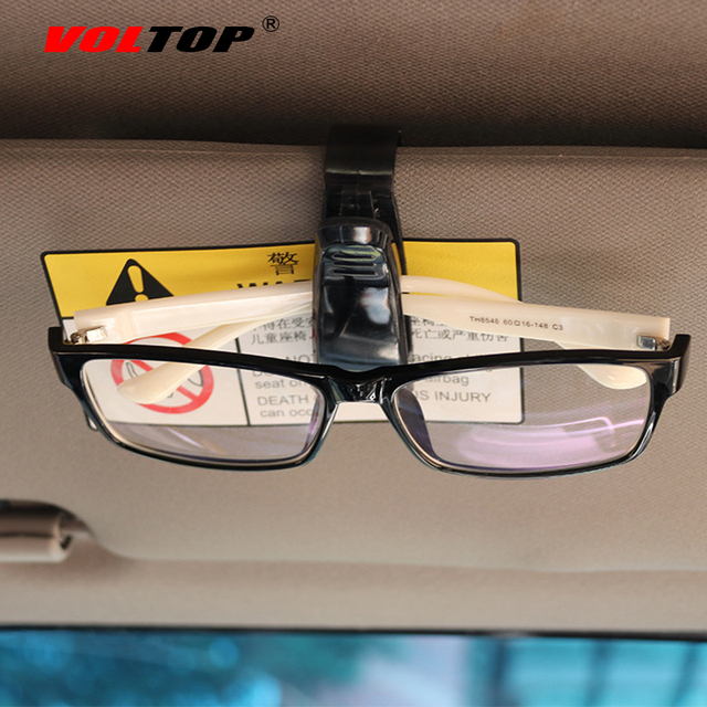 1pcs S Type Glasses Clip Accessories Car Interior Decoration Ornament Holder Multifunction Glasses Ticket Clip Auto Accessorie