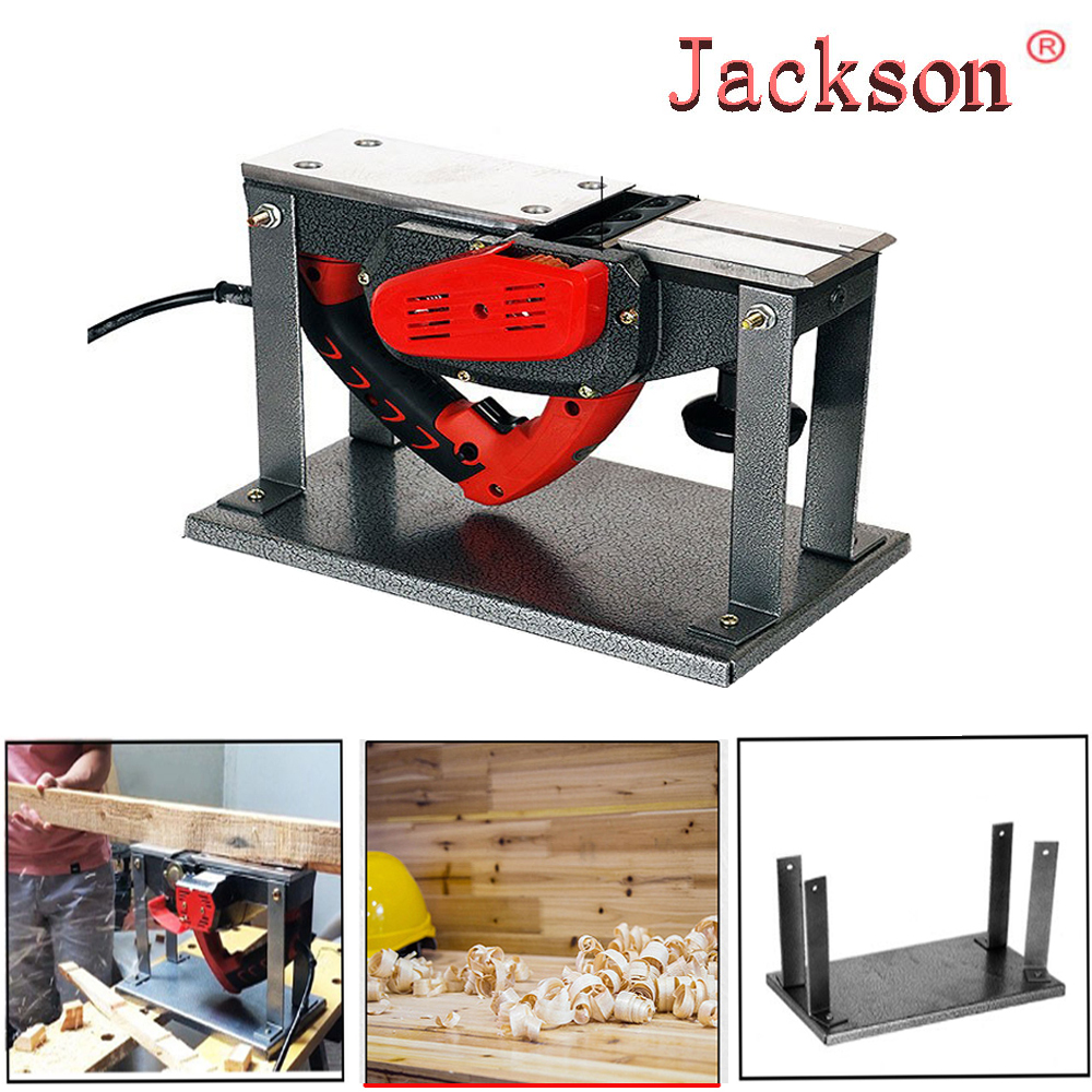 Free Shipping  Portable Flip Support Flip Planer Household Electric Planers Guide Table For Woodworking Benches Tools